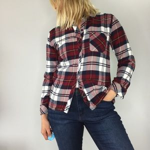 Rails Hunter plaid button down flannel